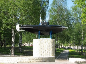 800px-Drzewiecki_submarine._Monument_in_Gatchina